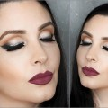 Girls-Night-Out-Soft-Smokey-Eye-2-Lip-Options-Clubbing-Makeup-Tutorial