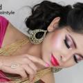 Indian-Wedding-Hairstyles-Bridal-Updo-Tutorial