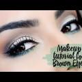 Makeup-Tutorial-for-Brown-Eyes-Maquiagem-para-Olhos-Castanhos