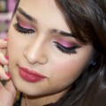 Pink-Smokey-Eyes-Makeup-Tutorial