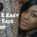 Quick-Fresh-Face-Makeup-Tutorial