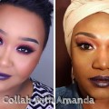 Red-Smokey-Eyes-Dark-Purple-Lips-Collab-With-Flawless-Beauty-By-Amanda-MakeupByNamaisa