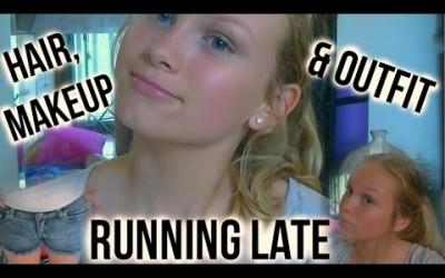 Running-Late-Hair-Makeup-Oufit