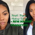 Simple-Airport-Makeup-Tutorial-New-Makeup-Products