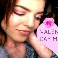 Valentines-Day-Makeup-Burgundy-Rose-Gold-Smokey-Eye-Nude-lips