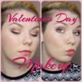 Valentines-Day-makeup-look-Soft-eyes-and-red-lips