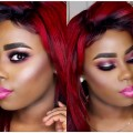 pink-BOLD-Makeup-Tutorial-using-Mac-Cosmetics-Full-Coverage-Foundation