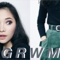 GRWM-Hair-Makeup-Outfit-HAIR-BRUSH-STRAIGHTENER-REVIEW-Dresslink.com_
