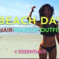 Get-Ready-With-Me-Beach-Edition-MakeupHairOutfit-and-Essentials