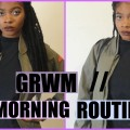 Getting-Ready-Morning-Routine-Drugstore-Makeup-tutorial-Skincare-hygiene-routine-Outfit