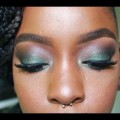 Green-Glitter-Smokey-Eye-St.-Patricks-Day-Makeup-Tutorial-