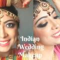 Indian-Wedding-Makeup-Inspired-by-Sridevi-Chandni-Copper-Gold-Black-Eyes-MissAngelicSmile