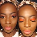 Orange-Smokey-Eyes-makeup-Tutorialmakeup
