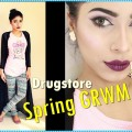 Spring-glam-Makeup-Tutorial-and-Outfit-GRWM