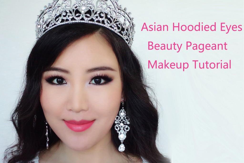 Asian Beauty Pageant Makeup Tutorialasian Hooded Eyes Smokey Makeup