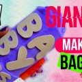 DIY-GIANT-Baby-Lips-Makeup-Bag-NO-SEW-MAYBELLINE-Baby-Lips-Inspired