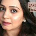 Earth-Toned-Makeup-Subtle-Brown-Smokey-with-Maroon-Brown-Lips