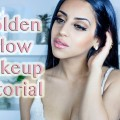 Golden-Glow-Full-Face-Makeup-Tutorial