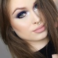 PROM-MAKEUP-Navy-glitter-smokey-eyes-nude-lips