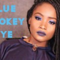 BLUE-SMOKEY-EYE-MAKEUP-TUTORIAL-QUICK-EASY-KEMIIXO