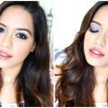 Blue-Eyes-Nude-Lips-Makeup-Tutorial-Debasree-Banerjee