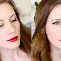 Graphic-Winged-Liner-Red-Lips-Makeup-Tutorial