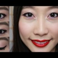 Tutorial-Sweet-Amethyst-Eyes-Red-Lips-Look