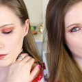 Warm-Orange-Smokey-Eye-Makeup-Tutorial