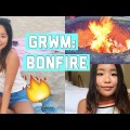 Chit-Chat-GRWM-Beach-Bonfire-Makeup-Hair-Outfit-Get-Ready-With-Me