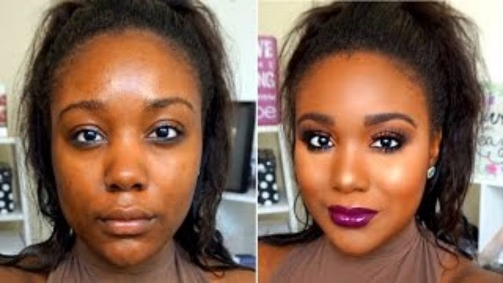 Soft glam makeup tutorial brown / dark skin youtube.