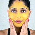 Easy-Turmeric-Face-Mask-Tutorial-With-Arshias-Makeup