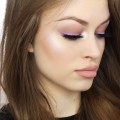 GLAM-ON-A-BUDGET-Purple-eyes-lavender-eyeliner-nude-lips
