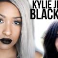 Kylie-Jenner-Black-Lips-Inspired-Makeup