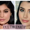 Kylie-Jenner-Inspired-Makeup-Flawless-Complection-Nude-Lips-Mia-Kate