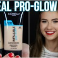 NEW-LOreal-PRO-GLOW-Foundation-Review-and-Demo