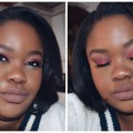 Red-Eye-Makeup-with-Grey-Matte-Lip-Nude-Glossy-Lip-Nicole-Khumalo-