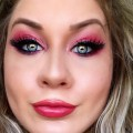 Sultry-Glittery-Baby-Pink-Barbie-Inspired-Smokey-Eye-Makeup-Tutorial