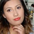 Summer-Inspired-Makeup-Look-Orange-Lips-Makeup-Tutorial-Genesis-Mendoza