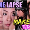Time-Lapse-Makeup-Transformation-with-Skincare-Prep-Care-Routine