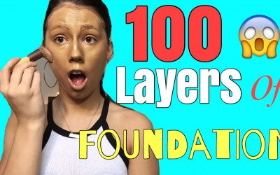 100-layers-of-THICK-foundation-100-layers-of-makeup-challenge