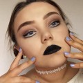 Bold-Eyes-Black-Lips-Celebrity-Inspired-Makeup-Tutorial-Jessica-Griffiths