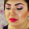 FUCHSIA-PURPLE-and-GOLD-Makeup-Tutorial-The-Power-Of-Makeup-