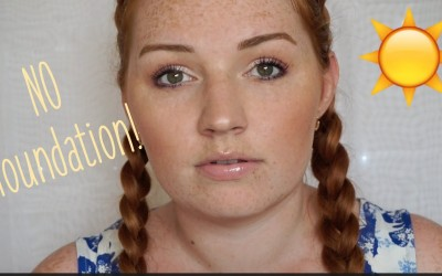 GRWM-Drugstore-Summer-NO-FOUNDATION-Makeup-Danielle-Akemi