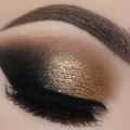 Gold-Glam-Cat-Smokey-Eyes-Perfect-Skin-Makeup-Tutorial-Melissa-Samways-