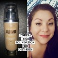 LOREAL-TRUE-MATCH-LUMI-FOUNDATION-ALL-DAY-WEAR-TEST-FOR-OILY-SKIN