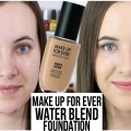NEW-Makeup-Forever-Water-Blend-Foundation-First-Impressions-Demo-makingupashlee