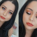Orange-Summer-Makeup-Tutorial