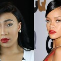 Rihanna-Red-Lips-Inspired-Makeup-Hair-Tutorial