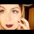 Vampy-Lips-Winged-Liner-Winter-Makeup-Maquillaje-de-Invierno-Natural-Matte-Palette