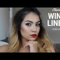 Wing-Liner-Red-Lips-Makeup-Tutorial